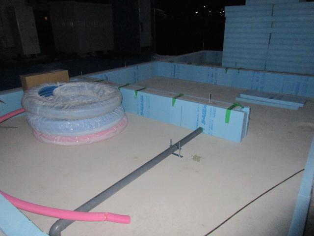 土台敷きと床下断熱:伊那市荒井Ti様邸1