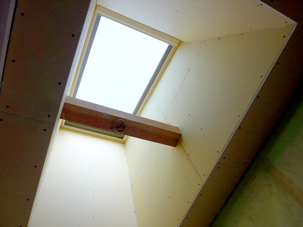 大工造作施工中3:松本市島内Tr様邸