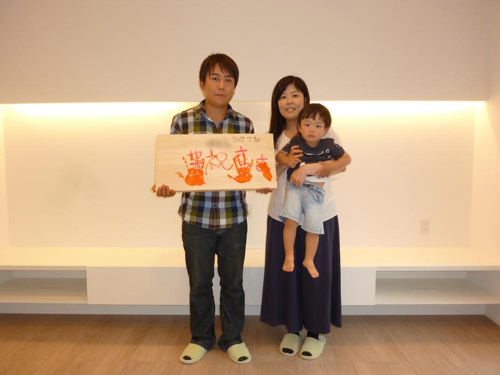手形祭とお引渡し2:松本市島内Tr様邸