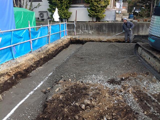 松本市S邸 土地整備