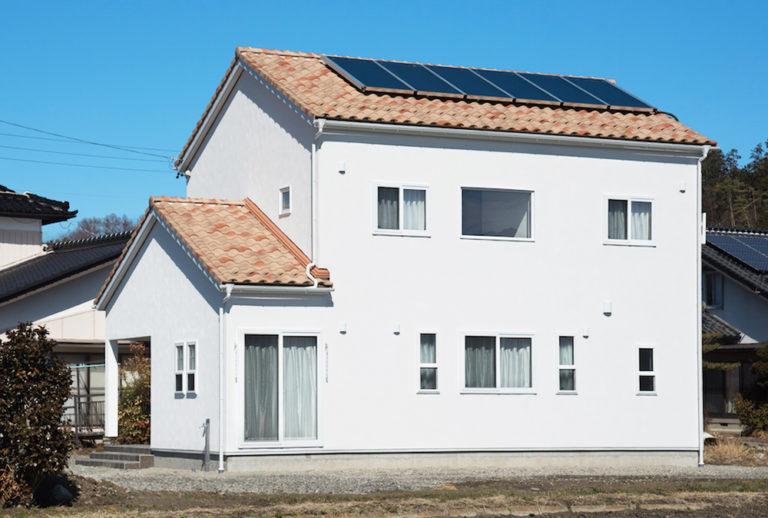 ドイツ漆喰のお家 外観