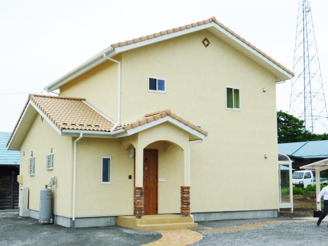 モクハウス塗り壁の家I様邸 外観