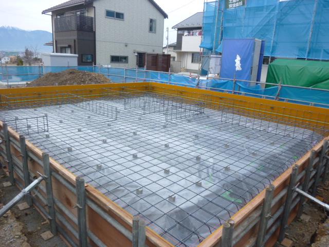 松本市S邸 基礎工事