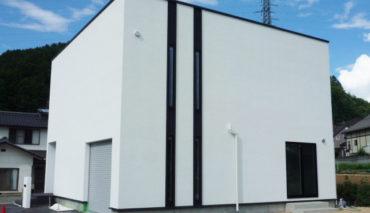 ビルトインガレージ付デザインハウスが伊那市新築住宅完成CASA CUBE