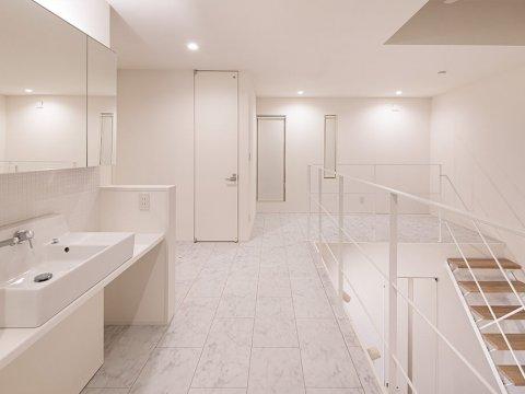 2Fホールの洗面台