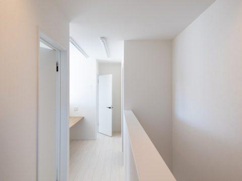 ドイツ漆喰のお家 2F廊下