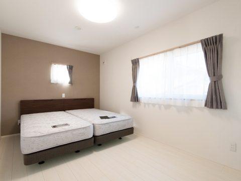 ドイツ漆喰のお家 寝室