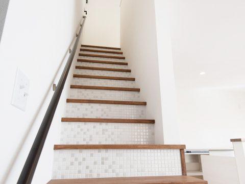 ドイツ漆喰のお家 階段
